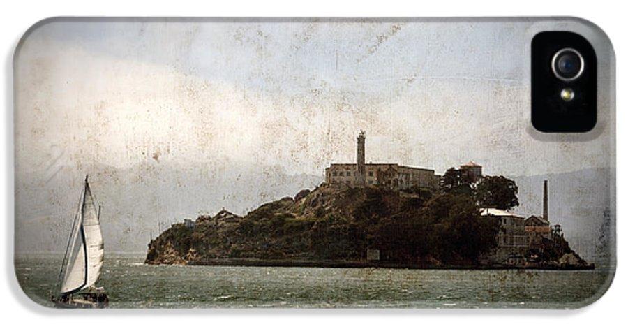 Alcatraz IPhone 5 Case featuring the photograph Alcatraz Island by RicardMN Photography