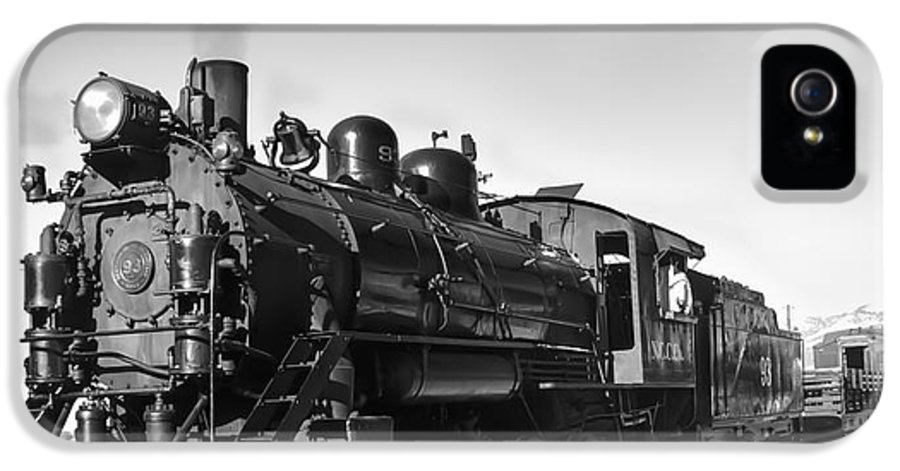 Train IPhone 5 Case featuring the photograph All Aboard by Robert Bales