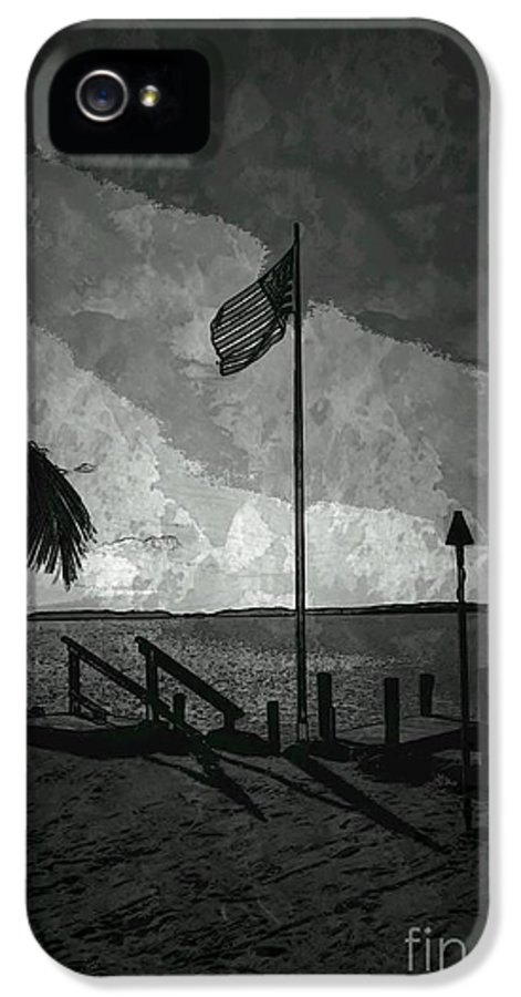Flag IPhone 5 Case featuring the photograph America All The Way 5 by Rene Triay Photography