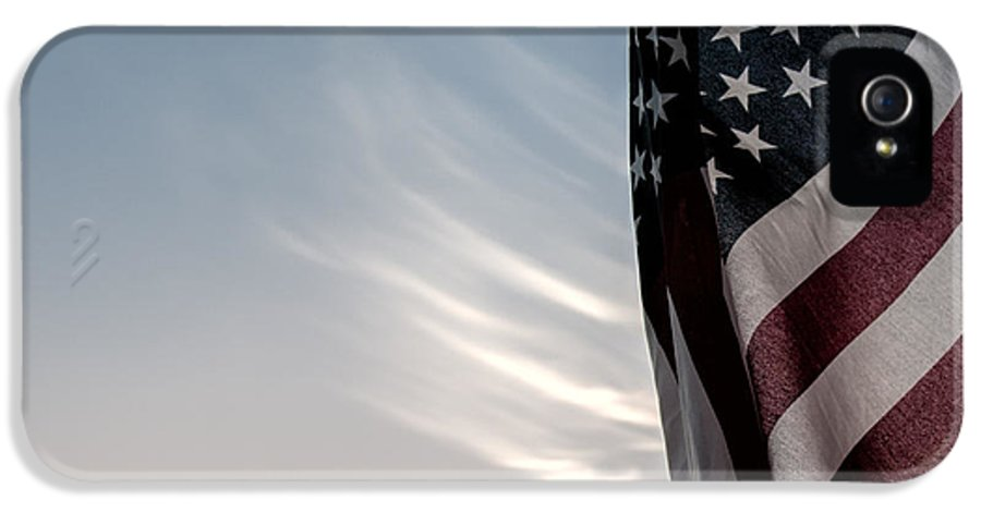 America IPhone 5 Case featuring the photograph America by Peter Tellone