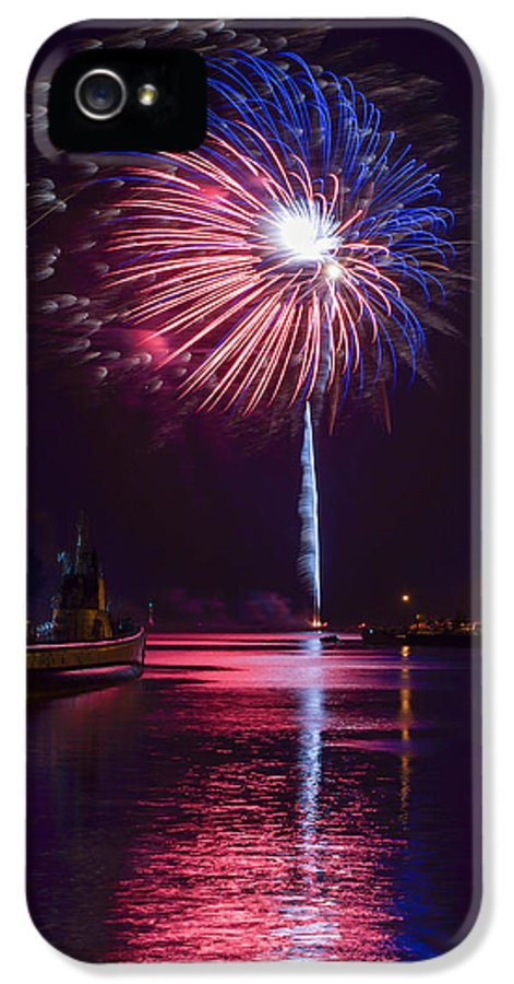 Bill Pevlor IPhone 5 Case featuring the photograph American Celebration by Bill Pevlor