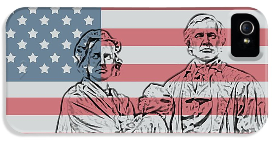 American Patriots American Patriot IPhone 5 Case featuring the photograph American Patriots by Dan Sproul