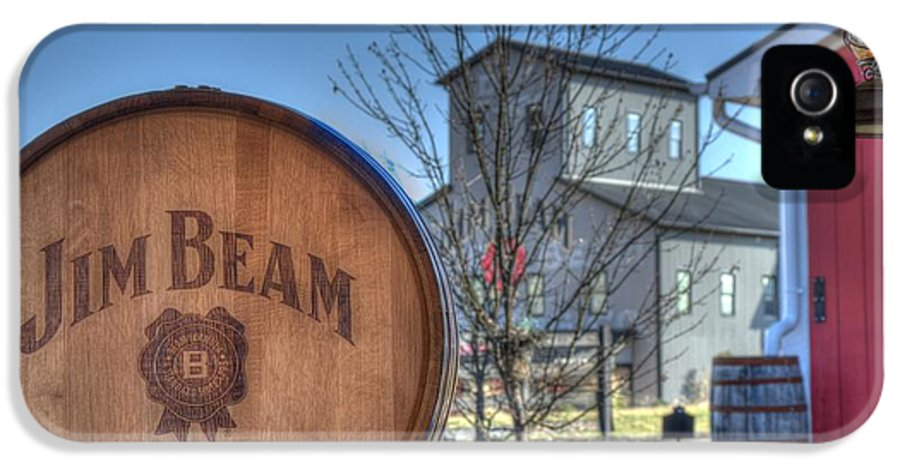 Jim Beam IPhone 5 Case featuring the photograph American Stillhouse by Mark Bowmer