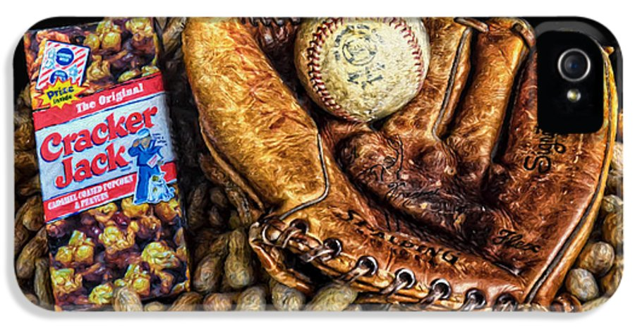 America's Pastime IPhone 5 Case featuring the photograph America's Pastime by Ken Smith