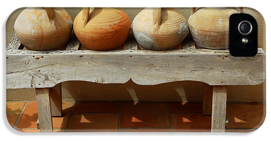 House IPhone 5 Case featuring the photograph Amphoras by Elena Elisseeva