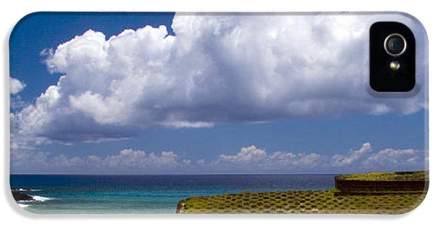 Easter Island IPhone 5 Case featuring the photograph Anakena Beach With Ahu Nau Nau Moai Statues On Easter Island by David Smith