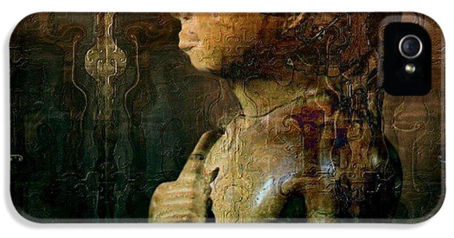 Boy IPhone 5 Case featuring the digital art Ancient Egypt by Gun Legler