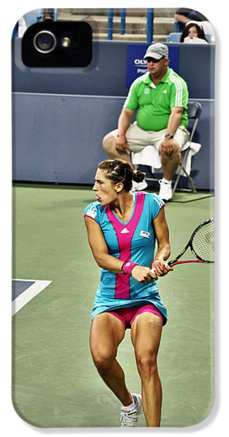 Wta IPhone 5 / 5s Case featuring the photograph Andrea Petkovic by Rexford L Powell