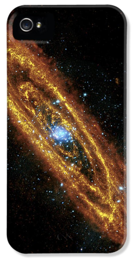 3scape Photos IPhone 5 Case featuring the photograph Andromeda Galaxy by Adam Romanowicz