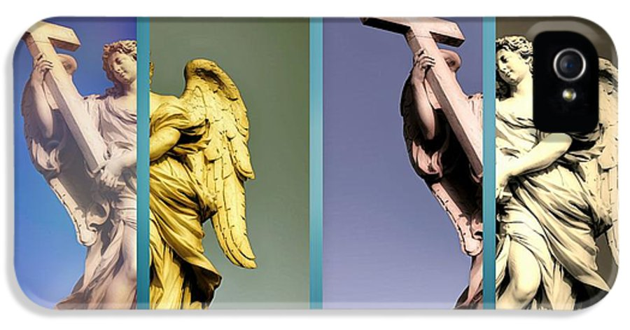 Angels IPhone 5 Case featuring the photograph Angel And Supernatural by Stefano Senise