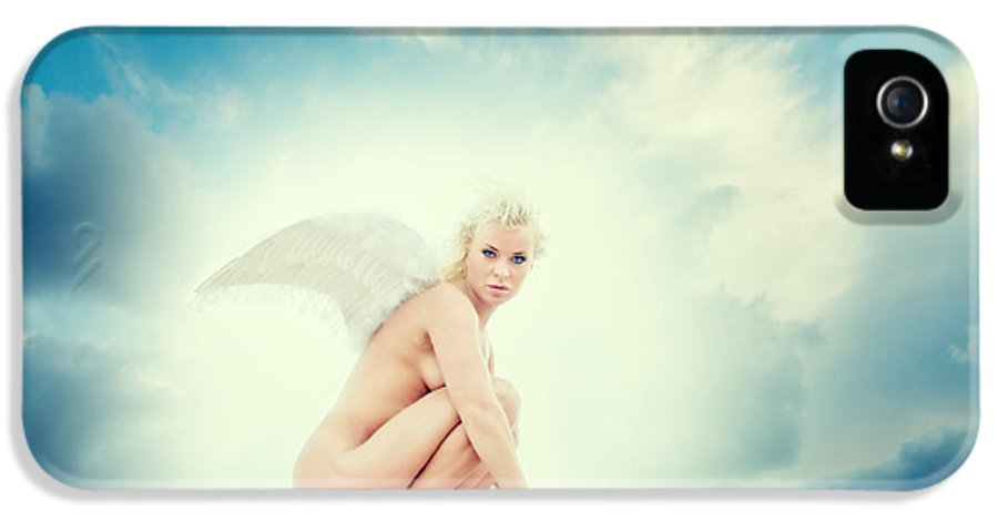 Angel IPhone 5 Case featuring the photograph Angel by Stelios Kleanthous