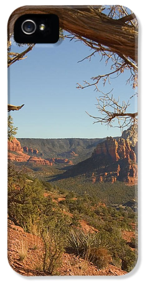 Arizona IPhone 5 Case featuring the photograph Arizona Outback 5 by Mike McGlothlen