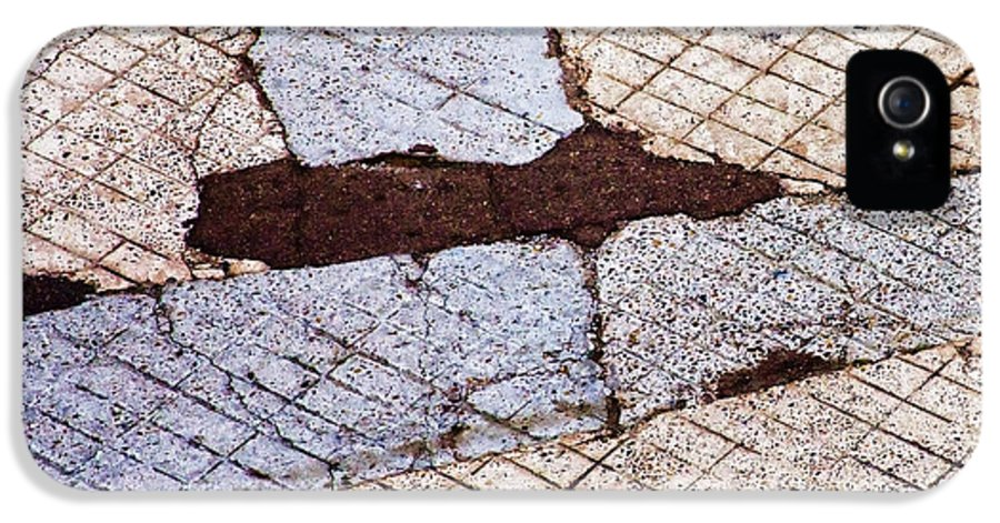 Urban IPhone 5 Case featuring the photograph Art In The Street 2 by Carol Leigh