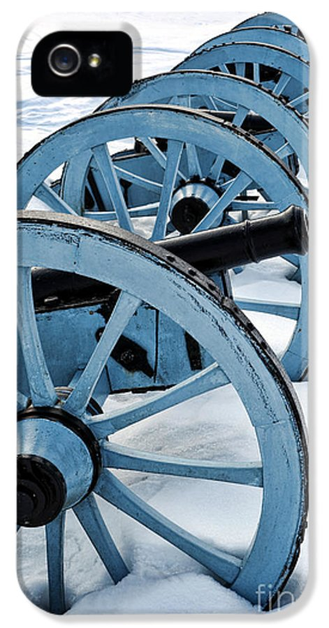 Valley IPhone 5 Case featuring the photograph Artillery by Olivier Le Queinec