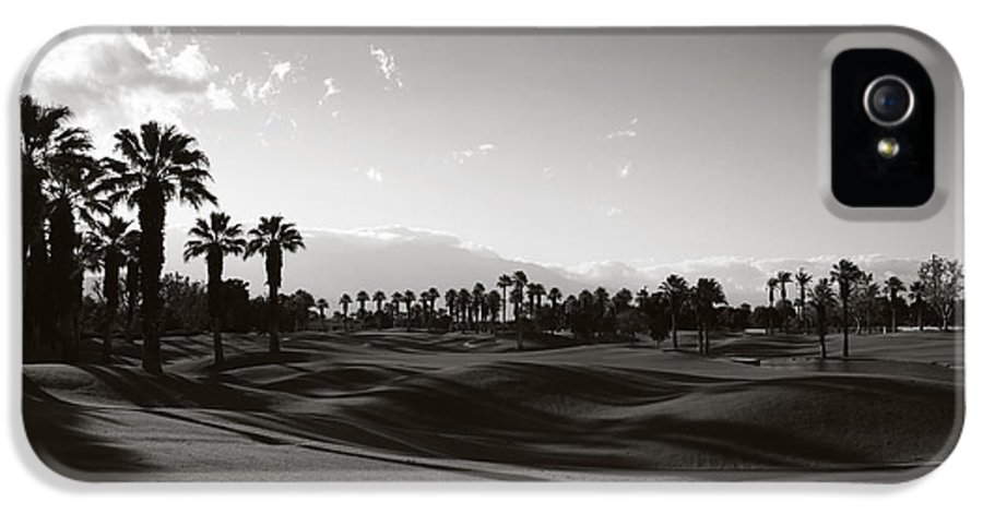 Palm Desert IPhone 5 Case featuring the photograph As Shadows Spread Across The Land by Laurie Search