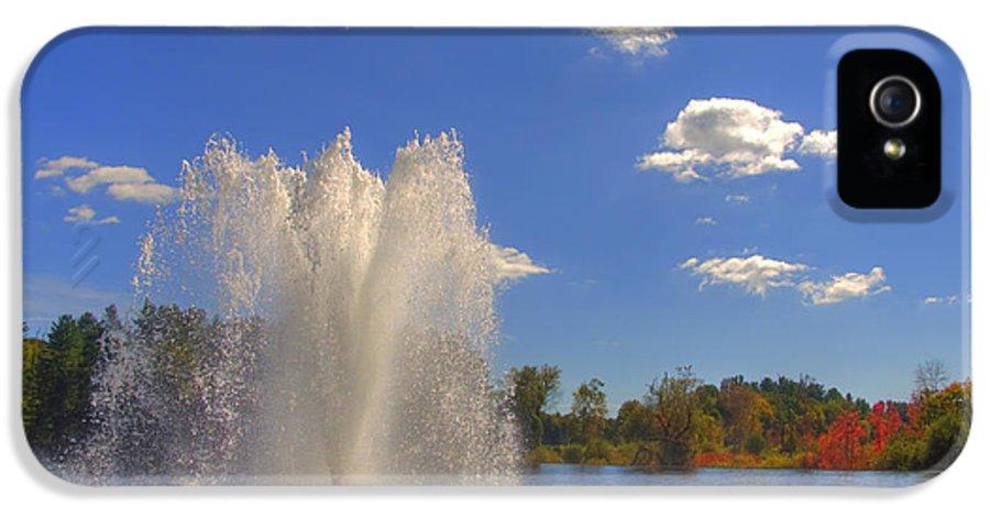 Connecticut IPhone 5 Case featuring the photograph Aspetuck Reservoir by Joann Vitali