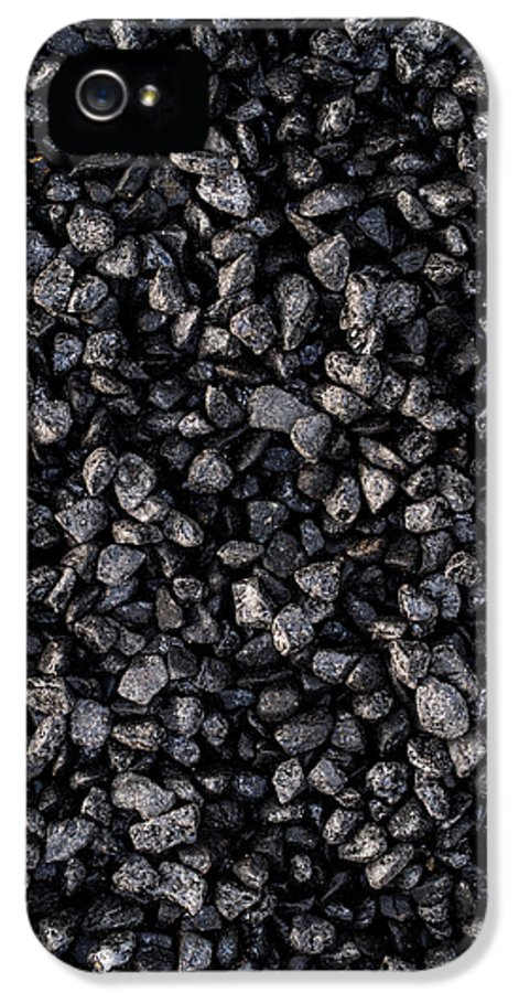 Asphalt IPhone 5 Case featuring the photograph Asphalt Gravel by Hakon Soreide