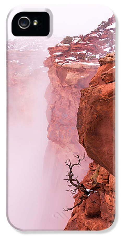 Canyonlands IPhone 5 Case featuring the photograph Atop Canyonlands by Chad Dutson