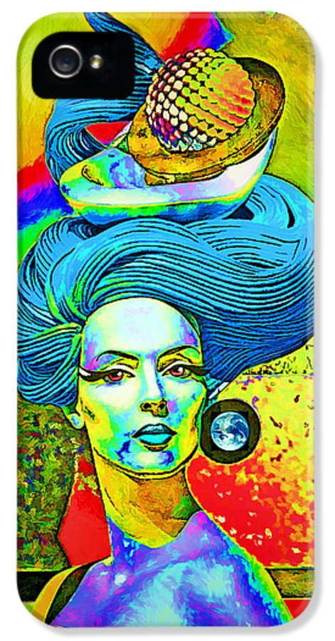 Blue IPhone 5 Case featuring the photograph Aurora by Chuck Staley