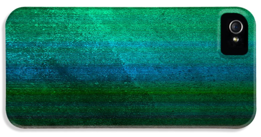 Abstract IPhone 5 Case featuring the digital art Aurora by Peter Tellone