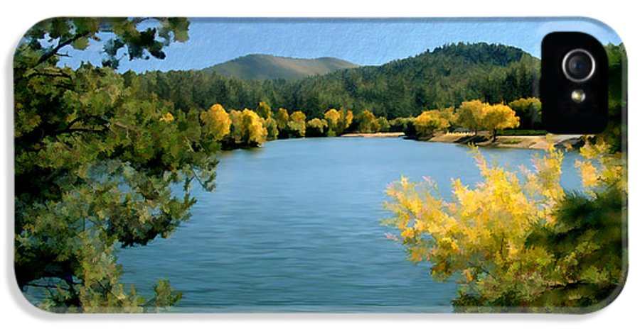 Lynx Lake IPhone 5 Case featuring the photograph Autumn At Lynx Lake by Kurt Van Wagner