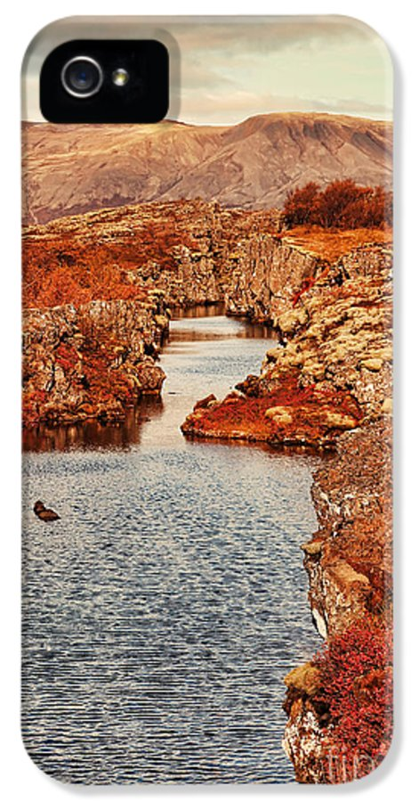 Mountains IPhone 5 Case featuring the photograph Autumn Or Fall by Jasna Buncic