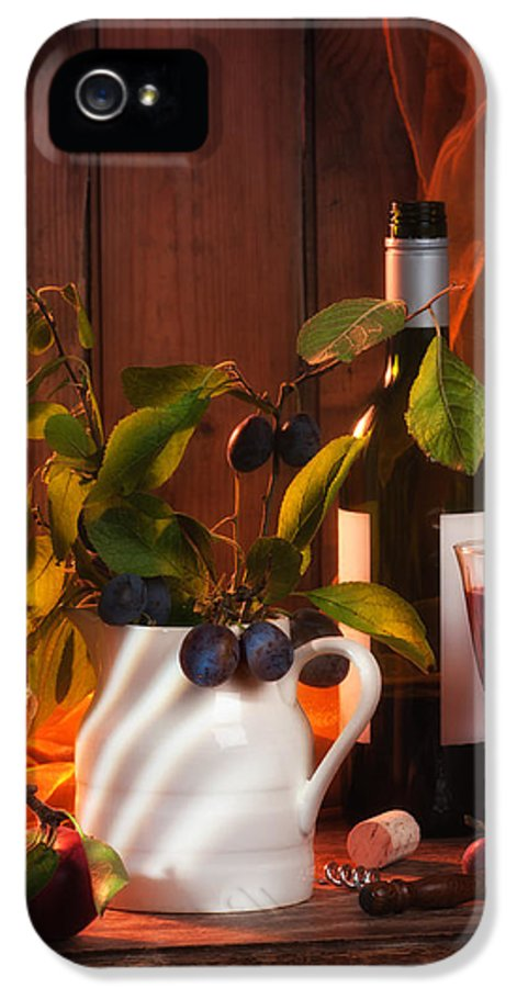 Autumn IPhone 5 Case featuring the photograph Autumn Still Life by Amanda Elwell