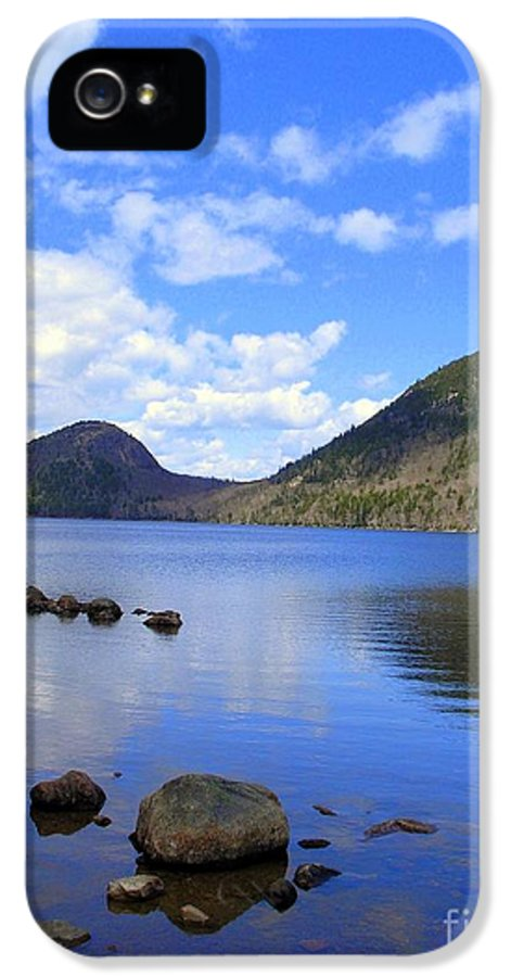 Jordan Pond IPhone 5 Case featuring the photograph Awaken With Spring by Elizabeth Dow