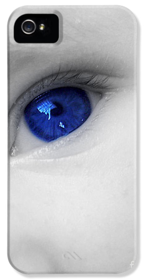 Baby Blue IPhone 5 Case featuring the photograph Baby Blue by Nina Ficur Feenan