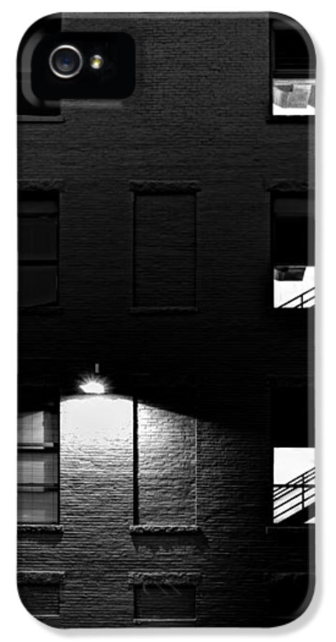 Architecture IPhone 5 Case featuring the photograph Back Alley 330am by Bob Orsillo
