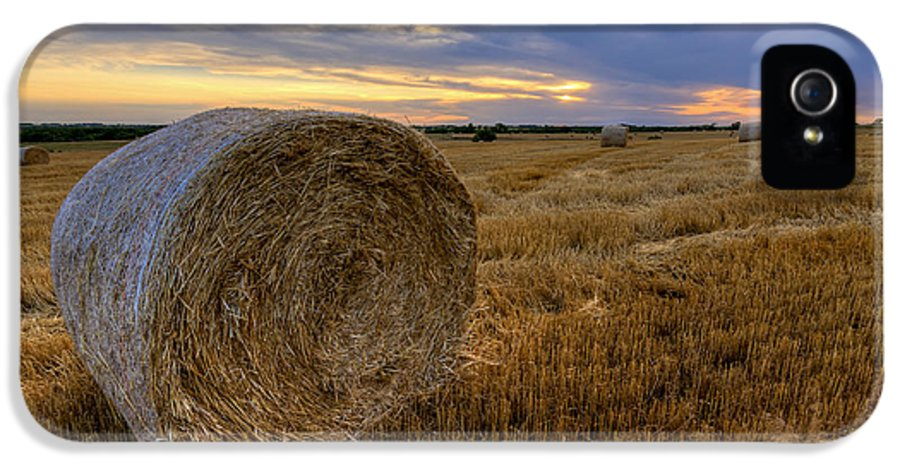 Fine Art America IPhone 5 Case featuring the photograph Baled by Scott Bean