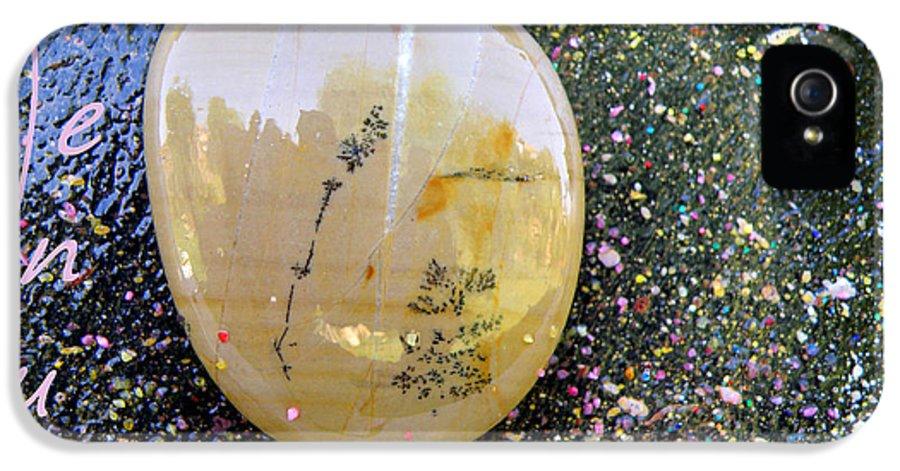 Barack Obama Painting IPhone 5 Case featuring the painting Barack Obama Venus by Augusta Stylianou