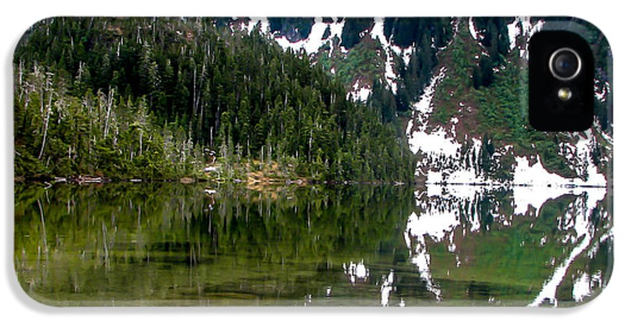 Alaska IPhone 5 Case featuring the photograph Baranof Lake by Robert Bales