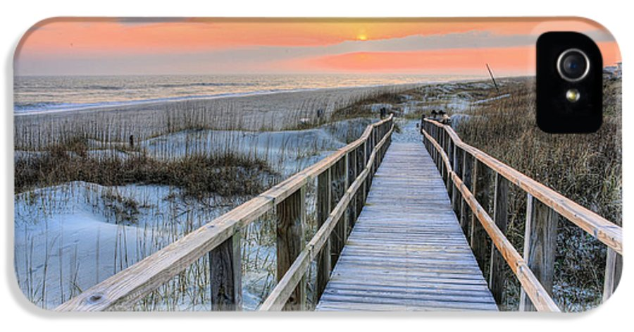 Oak Island IPhone 5 Case featuring the photograph Barefoot by JC Findley