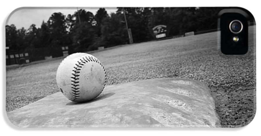 Kelly Hazel IPhone 5 Case featuring the photograph Baseball by Kelly Hazel