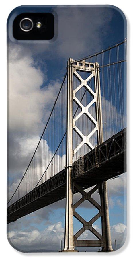 Bay IPhone 5 Case featuring the photograph Bay Bridge After The Storm by John Daly