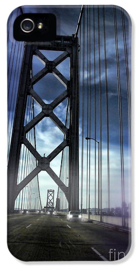 Bay Bridge IPhone 5 Case featuring the photograph Bay Bridge by Jill Battaglia