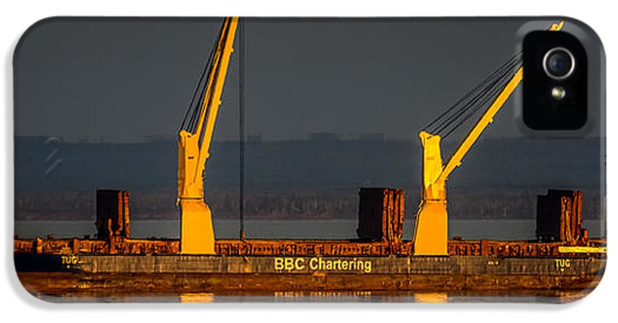 Ship IPhone 5 Case featuring the photograph Bbc Chartering by Paul Freidlund