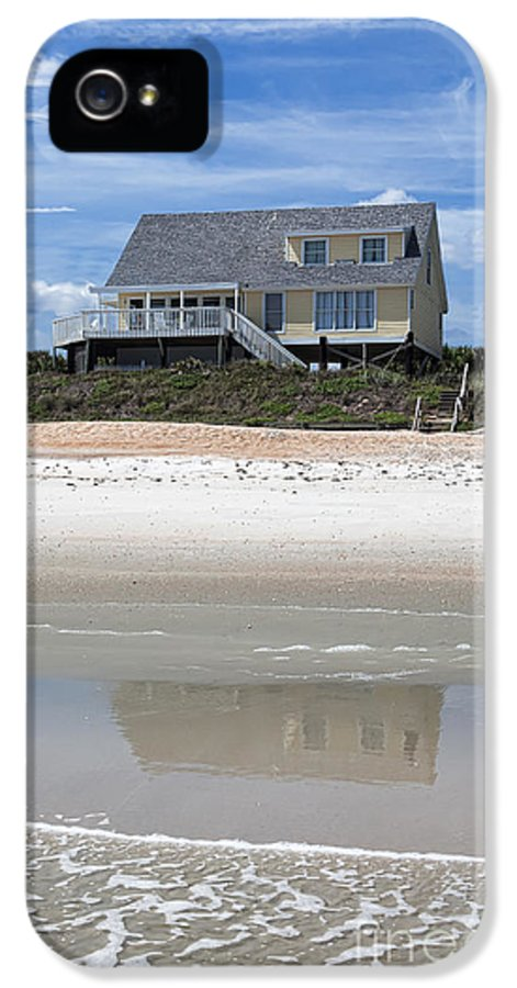 Beach House IPhone 5 Case featuring the photograph Beach House by Kay Pickens