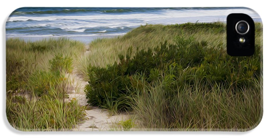 Beach IPhone 5 Case featuring the photograph Beach Path by Bill Wakeley