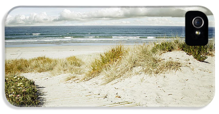 Beach IPhone 5 Case featuring the photograph Beach View by Les Cunliffe