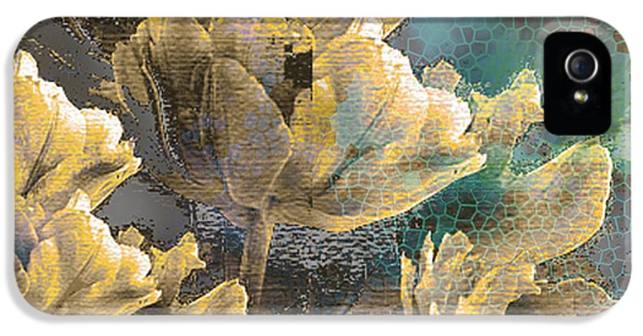 IPhone 5 Case featuring the mixed media Beau by Yanni Theodorou