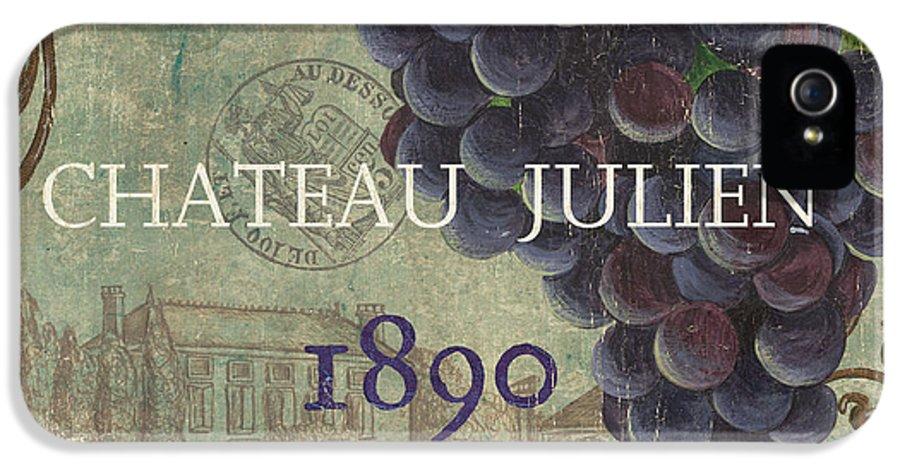 Wine IPhone 5 Case featuring the painting Beaujolais Nouveau 2 by Debbie DeWitt