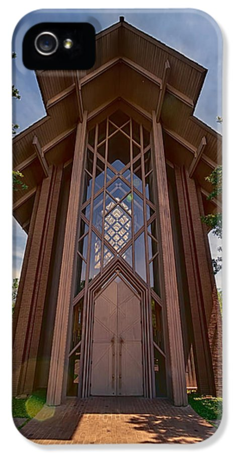 Chapel IPhone 5 Case featuring the photograph Beautiful Chapel by Joan Carroll