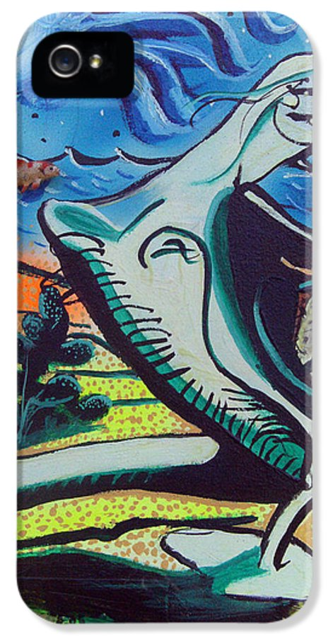 Beautiful IPhone 5 Case featuring the painting Beautiful Dreamer Bella Reveuse Au Le Monde by Feile Case