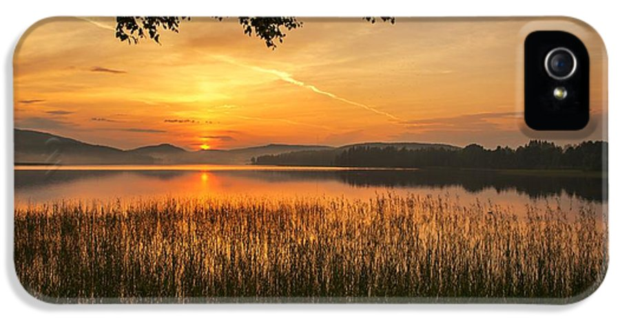 Sky IPhone 5 Case featuring the photograph Beautiful View by Rose-Maries Pictures