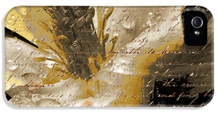 IPhone 5 Case featuring the mixed media Beautiful by Yanni Theodorou