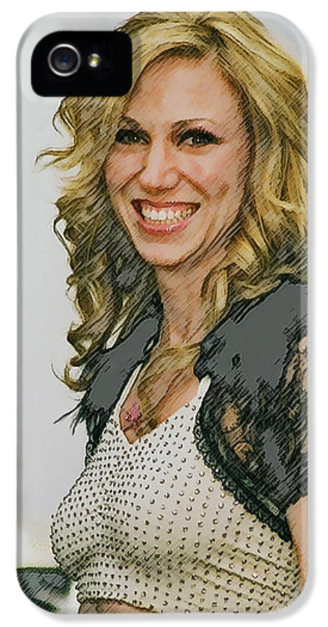 Debbie Gibson IPhone 5 Case featuring the photograph Behind The Scenes by Brian Graybill