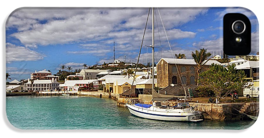 Bermuda IPhone 5 Case featuring the photograph Bermuda St George Harbour by Charline Xia