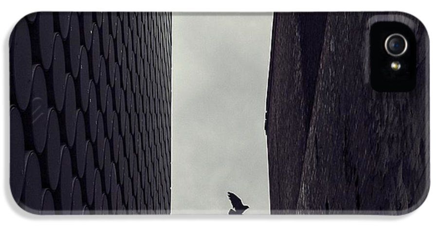 Architecture IPhone 5 Case featuring the photograph Between Worlds by Andrew Paranavitana